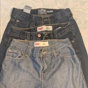 Boys Levi's Jeans-3 pairs